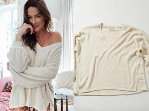 jennifer saviano, the bachelor, ivory sweater