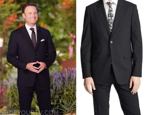 chris harrison, the bachelorette, black suit