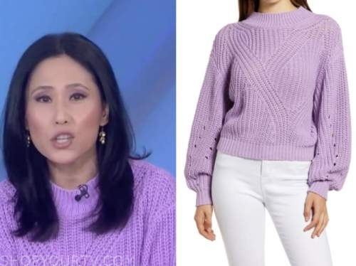 vicky nguyen, the today show, purple sweater