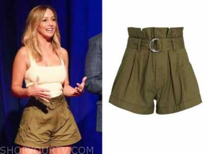 clare crawley, the bachelorette, olive green shorts