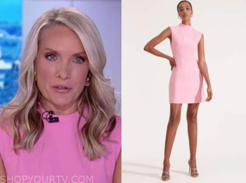the five, the daily briefing, dana perino, pink dress