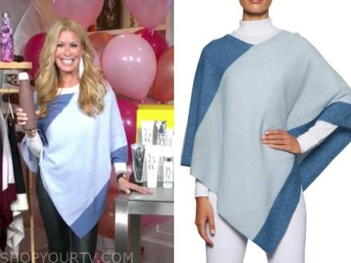jill martin, blue poncho, the today show