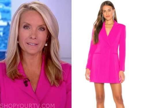 dana perino, hot pink blazer dress, the five, the daily briefing