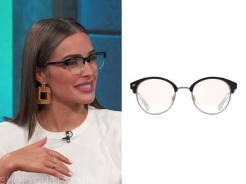 olivia culpo, E! news, daily pop, black eye glasses