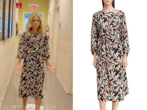 kelly ripa, floral midi dress, live with kelly and ryan