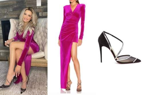 janelle pierzina, pink velvet dress, big brother all stars finale, season 22