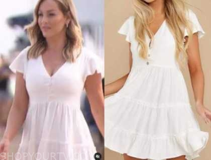 clare crawley, the bachelorette, white mini dress