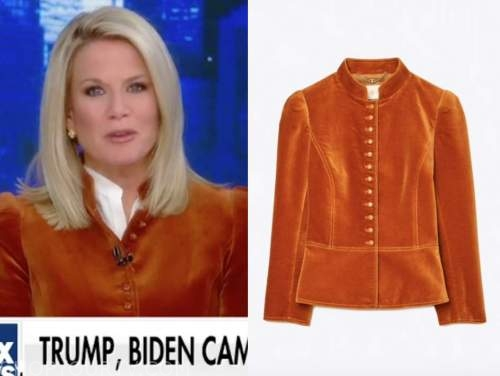 martha maccallum, velvet jacket, the story