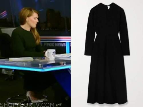 dagen mcdowell, the five, black midi dress