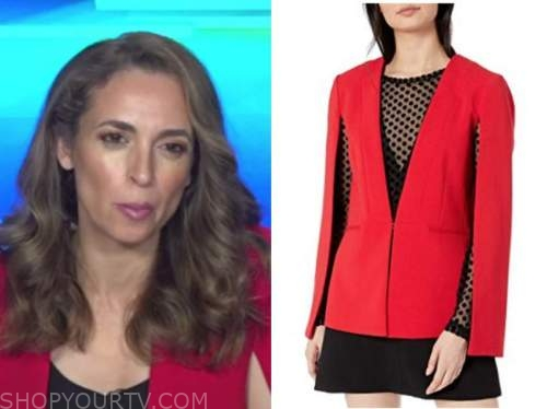 jedediah bila, red cape jacket, fox and friends