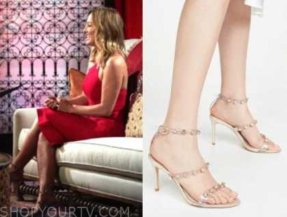 the bachelorette, embellished sandals, clare crawley