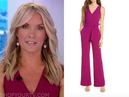 the daily briefing, the five, dana perino, pink jumpsuit