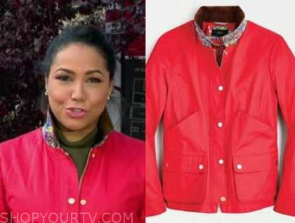 stephanie ramos, red jacket, good morning america
