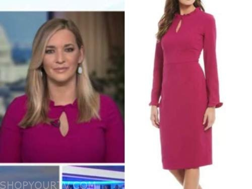 katie pavlich, pink ruffle dress, outnumbered