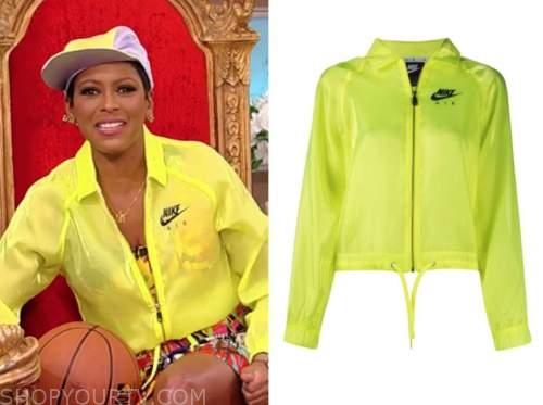 tamron hall, tamron hall show, nike yellow jacket