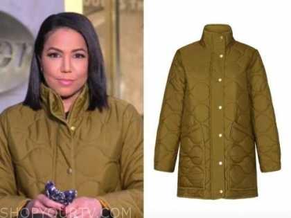 stephanie ramos, green puffer jacket, good morning america