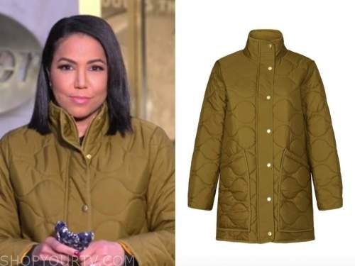 stephanie ramos, green puffer jacket, good morning america