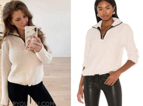 ashlee frazier, ivory pullover sweater, the bachelor