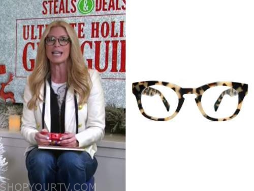 jill martin, the today show, tortoise shell eyeglasses