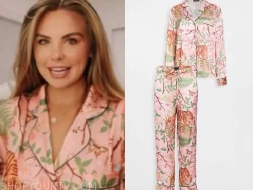 hannah brown, pink tiger pajamas, the bachelorette