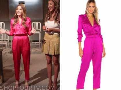 jojo fletcher, pink satin jumpsuit, the bachelorette