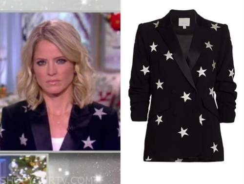 sara haines, the view, star blazer