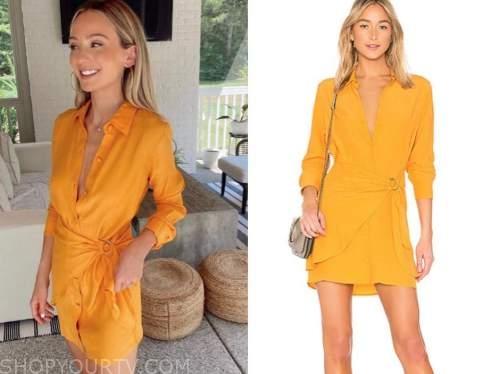 lauren bushnell lane, the bachelor, yellow dress,