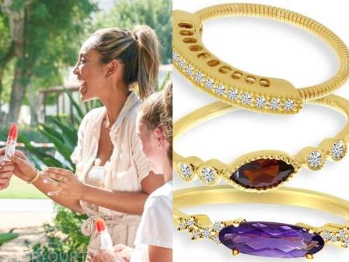 the bachelorette, tayshia adams, gold rings