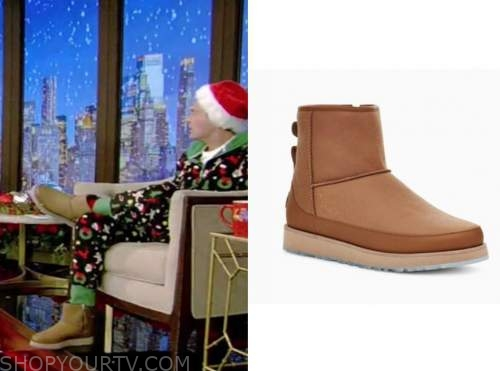 ryan seacrest, live with kelly and ryan, ugg boots