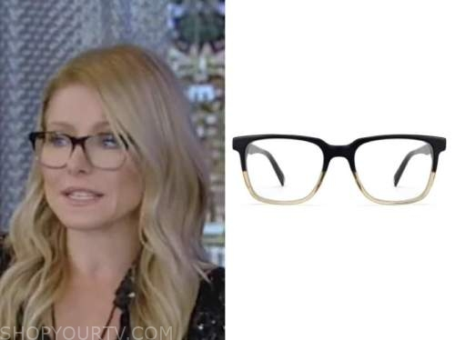 kelly ripa, live with kelly and ryan, glasses