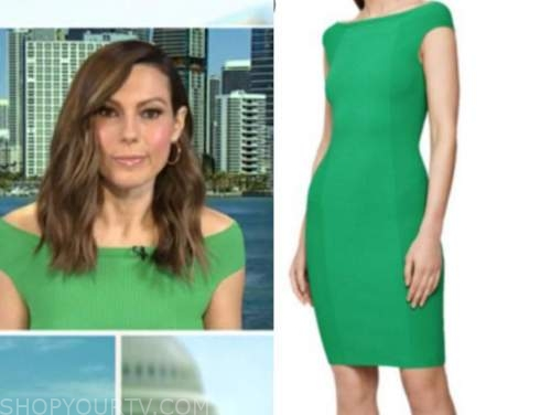 lisa boothe, green knit dress, outnumbered