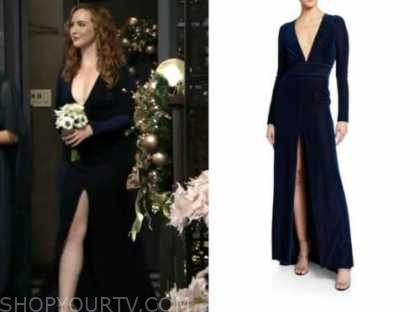 mariah copeland, camryn grimes, blue velvet bridesmaid's gown, dress, the young and the restless, sharon and rey's wedding