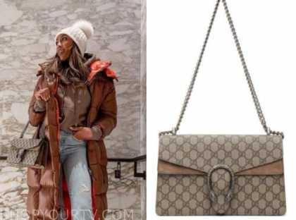 tayshia adams, the bachelorette, gucci bag