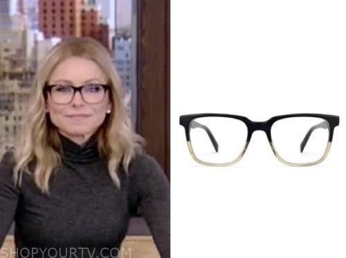 kelly ripa, live with kelly and ryan, eyeglasses
