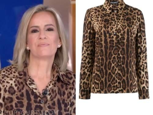 dr. jennifer ashton, leopard shirt, good morning america gma3