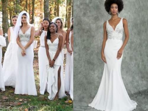 rachael kirkconnell, the bachelor, wedding gown