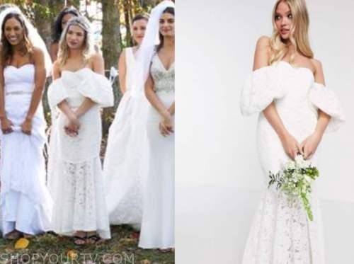 kit keenan, white lace wedding dress, the bachelor