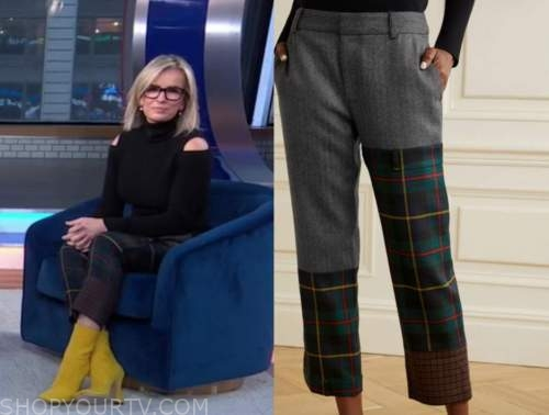 dr. jennifer ashton, green tartan plaid pants, good morning america, gma3