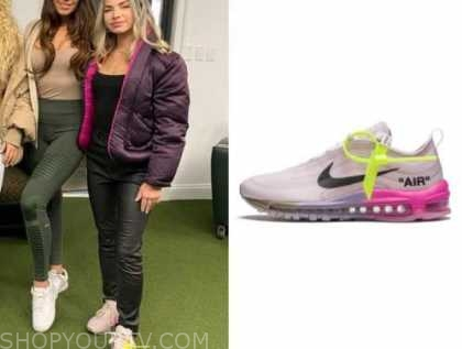 kit keenan, the bachelor, ombre neon sneakers