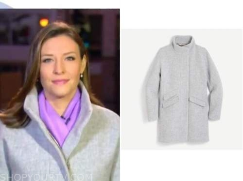 mary bruce, gray coat, good morning america