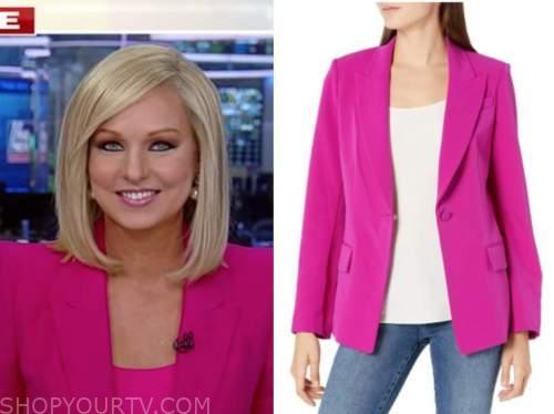 sandra smith, america reports, hot pink blazer