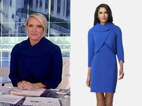 dana perino, america's newsroom, blue jacket dress suit