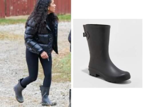 bri springs, black rain boots, the bachelor