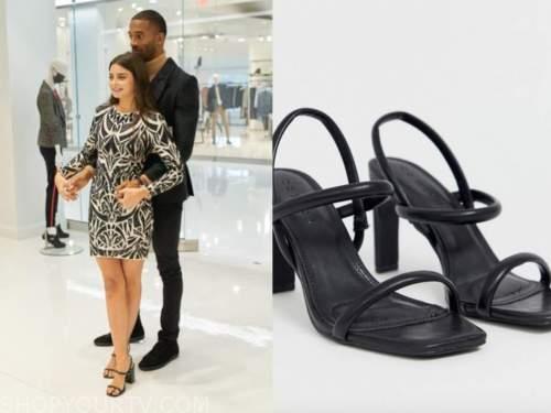 the bachelor, black sandals, rachael kirkconnell
