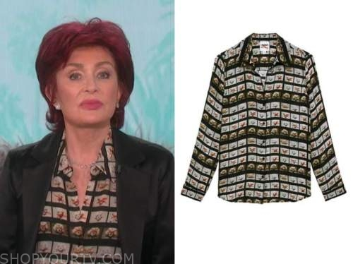 sharon osbourne, the talk, marilyn monroe top