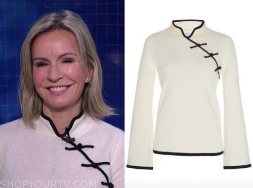 dr. jennifer ashton, live with kelly and ryan, good morning america, white and black sweater