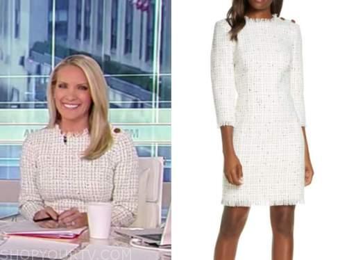 dana perino, tweed dress, america's newsroom