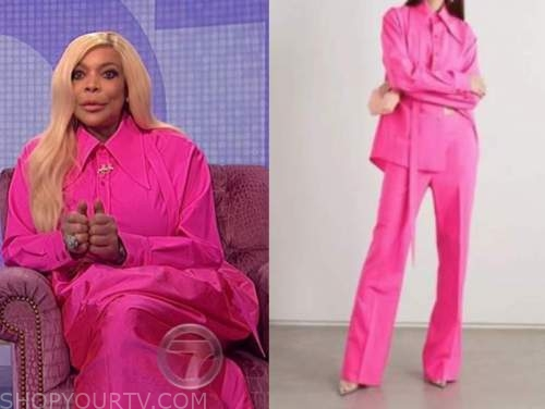 the wendy williams show, wendy williams, hot pink shirt