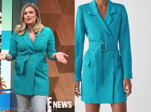 carissa culiner, E! news, daily pop, blue blazer