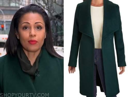 adrienne bankert, green coat, good morning america
